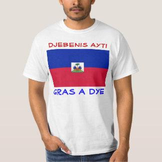 Bless Haiti mens shirt