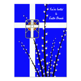 "Blessed Easter Invitation 5"" X 7"" Invitation Card"