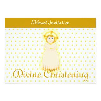 Blessed Invitation Divine Christening-Customize