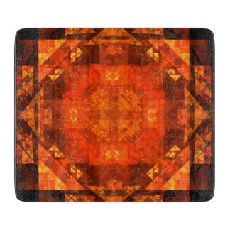 Blessing Abstract Art Rectangle Cutting Board