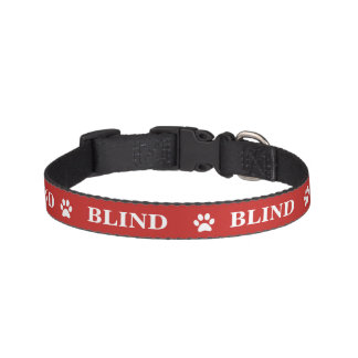 """BLIND"" Awareness Pet Collar"