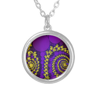 Bling Abstract Pattern Custom Necklace