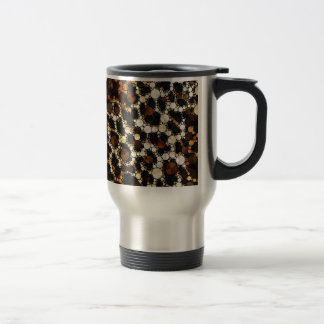 Bling Cheetah Print Coffee Mugs