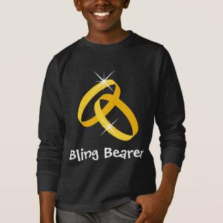 Bling ring bearer shirt for kids