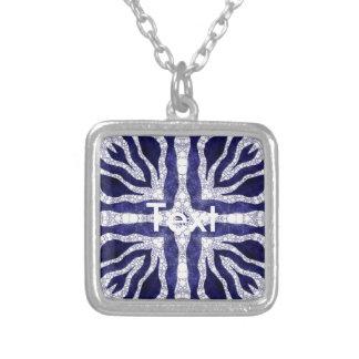 Bling Zebra Necklace