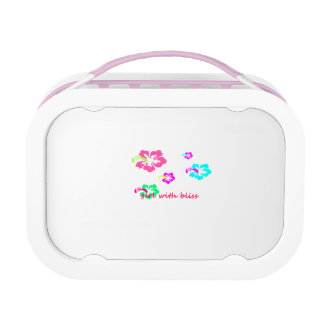Bliss Lunchbox,Pink with 3 containers and ice pack Lunchbox