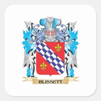 Blissett Coat of Arms Sticker