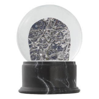 Blizzard Tree Photo Snow Globe
