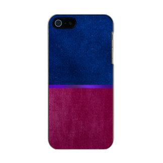 Bllue Velvet and Glowing Purple Case Design