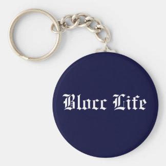 Blocc Life Key Chain