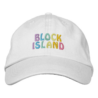 BLOCK ISLAND cap Embroidered Hat
