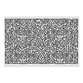 blockity maze poster
