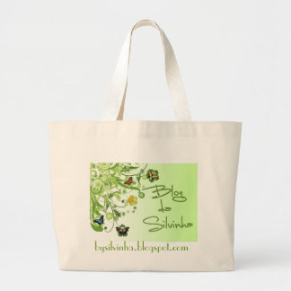 Blog of the Silvinha Jumbo Tote Bag