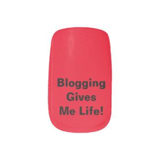 Blogging Gives Me Life!Minx Nail Art Manicure Set