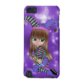 Blond Jester Girl iPod Touch Case