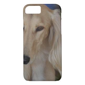 Blonde Saluki Dog iPhone 8/7 Case