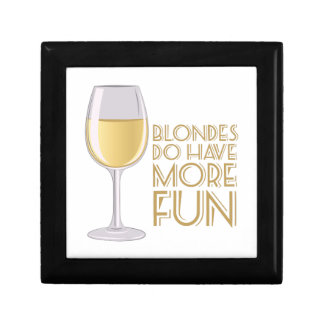 Blondes More Fun Gift Box