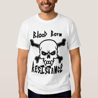 Blood Born Resistance-Victory or Valhalla Tee Shirts