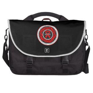 Blood Cancer Hope Intertwined Ribbon Laptop Bag