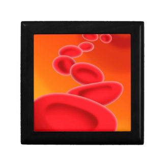 Blood Cells Small Square Gift Box