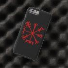 Blood Red Vegvísir (Viking Compass) Tough iPhone 6 Case