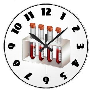 Blood Samples Clock