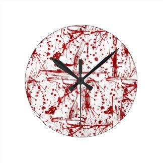 Blood Splatter Clock