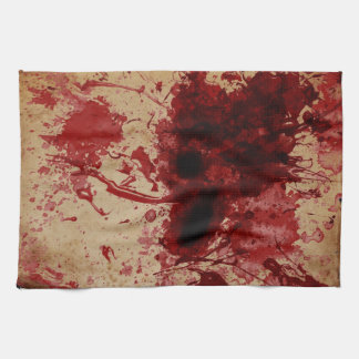Blood Splatter Tea Towel
