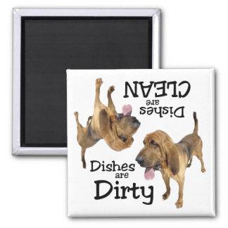 Bloodhound Dishwasher Magnet