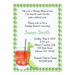 Bloody Mary Brunch Invitation