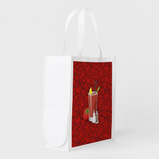 Bloody Mary Reusable Grocery Bag