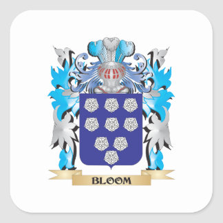 Bloom Coat of Arms Stickers