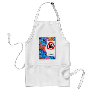 Blossom Can't Touch This Standard Apron