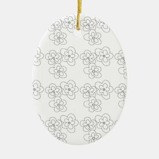 blossom christmas ornament