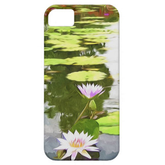 Blossom Lotus Flower In Pond iPhone 5 Cover