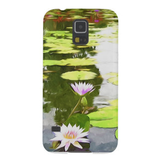 Blossom Lotus Flower In Pond Galaxy S5 Case