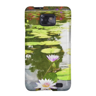 Blossom Lotus Flower In Pond Galaxy S2 Case