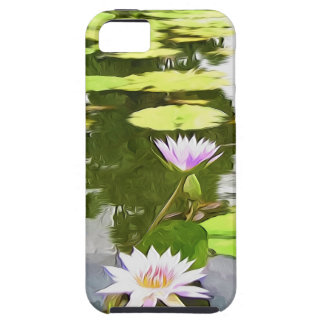 Blossom Lotus Flower In Pond iPhone 5 Case