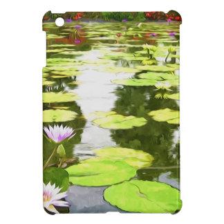 Blossom Lotus Flower In Pond iPad Mini Covers