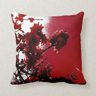 Blossom (Red) Pillow Cushions