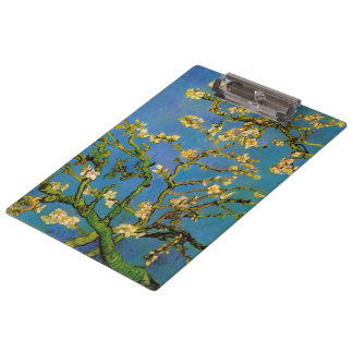 Blossoming Almond Tree by Van Gogh, Fine Art Clipboard