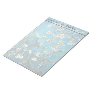 Blossoming Almond Tree by Vincent van Gogh. Notepad
