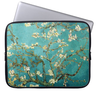 Blossoming Almond Tree Vintage Floral Van Gogh Laptop Sleeve