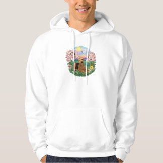 Blossoms - Airedale #5 Hoodie
