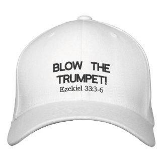 BLOW THE TRUMPET Cap Embroidered Cap