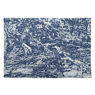 Blue Abstract Pattern Placemat