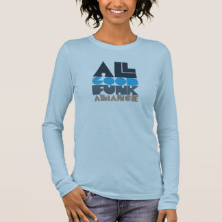 Blue AGFA Girl LS Long Sleeve T-Shirt
