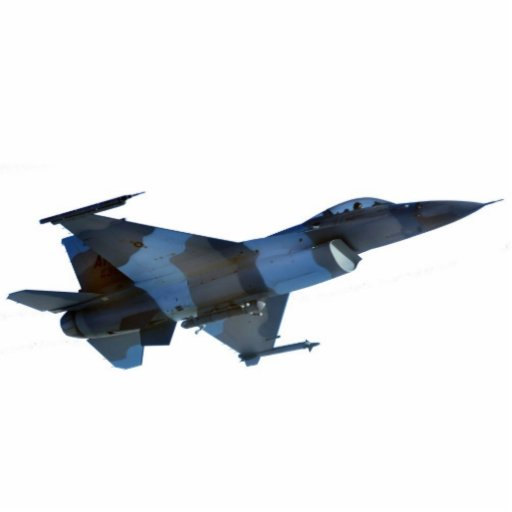 Blue Aggressor F-16 Fighting Falcon Photo Cut Out
