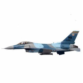 Blue Aggressor F-16 Fighting Falcon Photo Cutouts