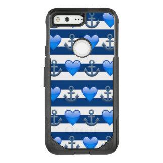 Blue Anchor Emoji Google Pixel Otterbox Case